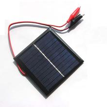 HOT  New  Flexible 5.5V 1W Solar Panel Module Photovoltaic Cell Car Lamp Light Sun Power Battery ибп tripplite su6000rt4uhvg 6000va 4u power module battery module rack tower mount on line