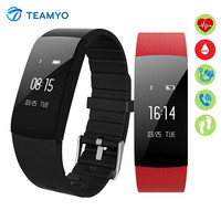Teamyo A89 Smart Watch Blood Pressure Heart Rate Blood Oxygen Monitor Smartband Pedometer Fitness Tracker Smart