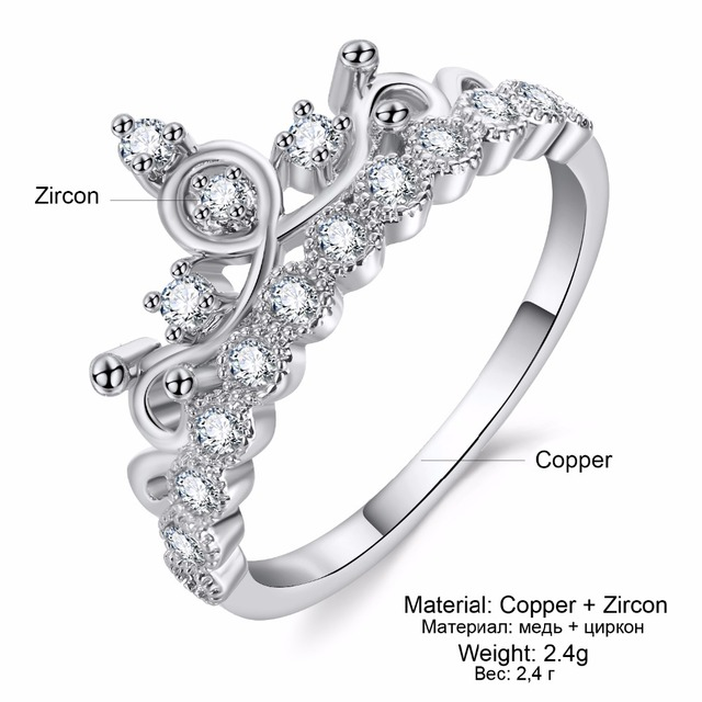 Luxurious Crown Ring 2