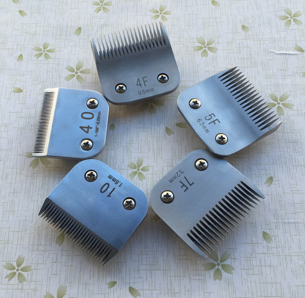 4F 5F 7F 10 40 Professional pet clipper A5 blade fit most Andis and Oster clippers