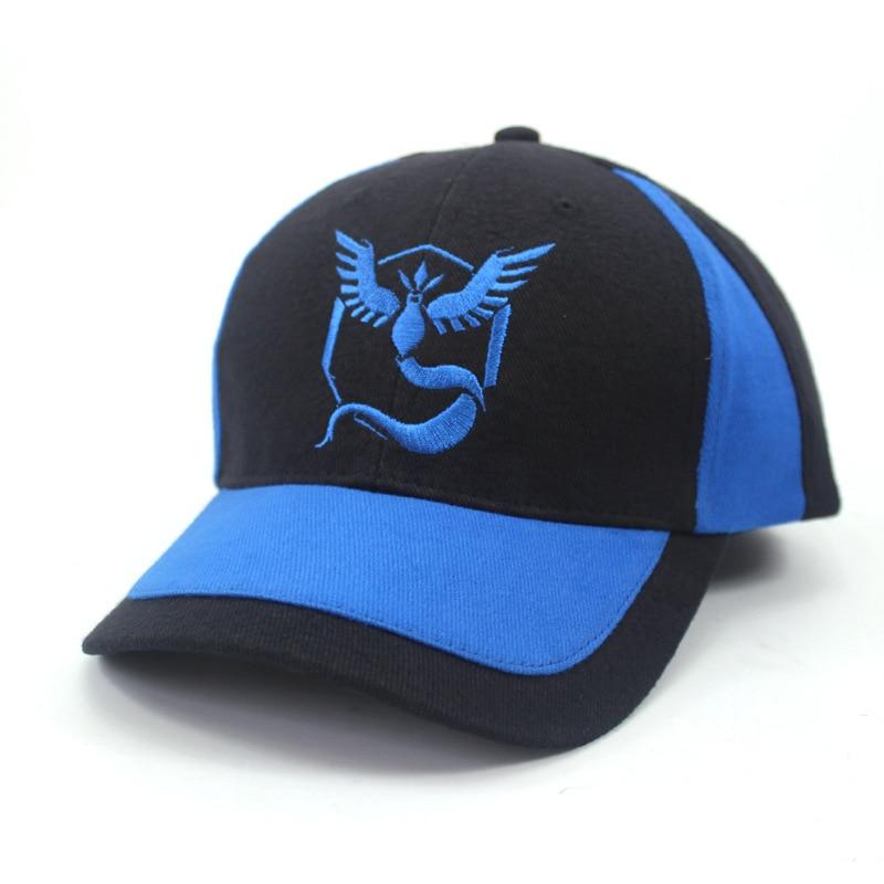 Baseball Caps New Pokemon Go Pokemon Wild Sun Baseball Cap High Qualitybaseball Cap 4 Color Hat Men Women Boy Girl Cap