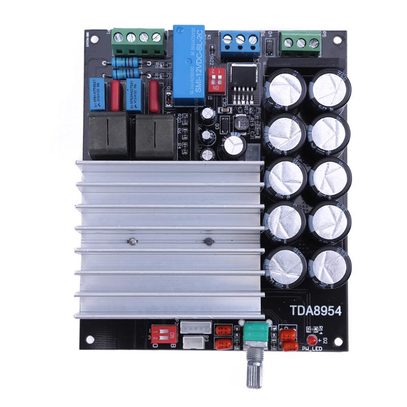 TDA8954 Digital Amplifier Board 210W+210W Class D Fever 2.0 Dual Channel Stereo Power amplifier board fever class single channel lm3886tf power amplifier board finished board can be parallel to the classic circuit