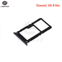 New Original For Xiaomi Mi 8 lite Sim Card Tray Slot Holder Replacement Parts