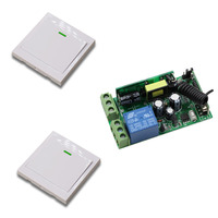 New Digital Remote Control Switch AC85V 220V Receiver Wireless Wall Transmitter 315 433MHZ Radio Controlled Switch