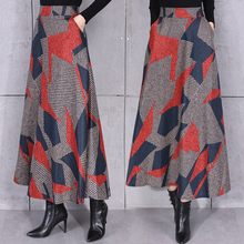 07a8b09d73447 Buy pleated skirt mid calf wool and get free shipping on AliExpress.com