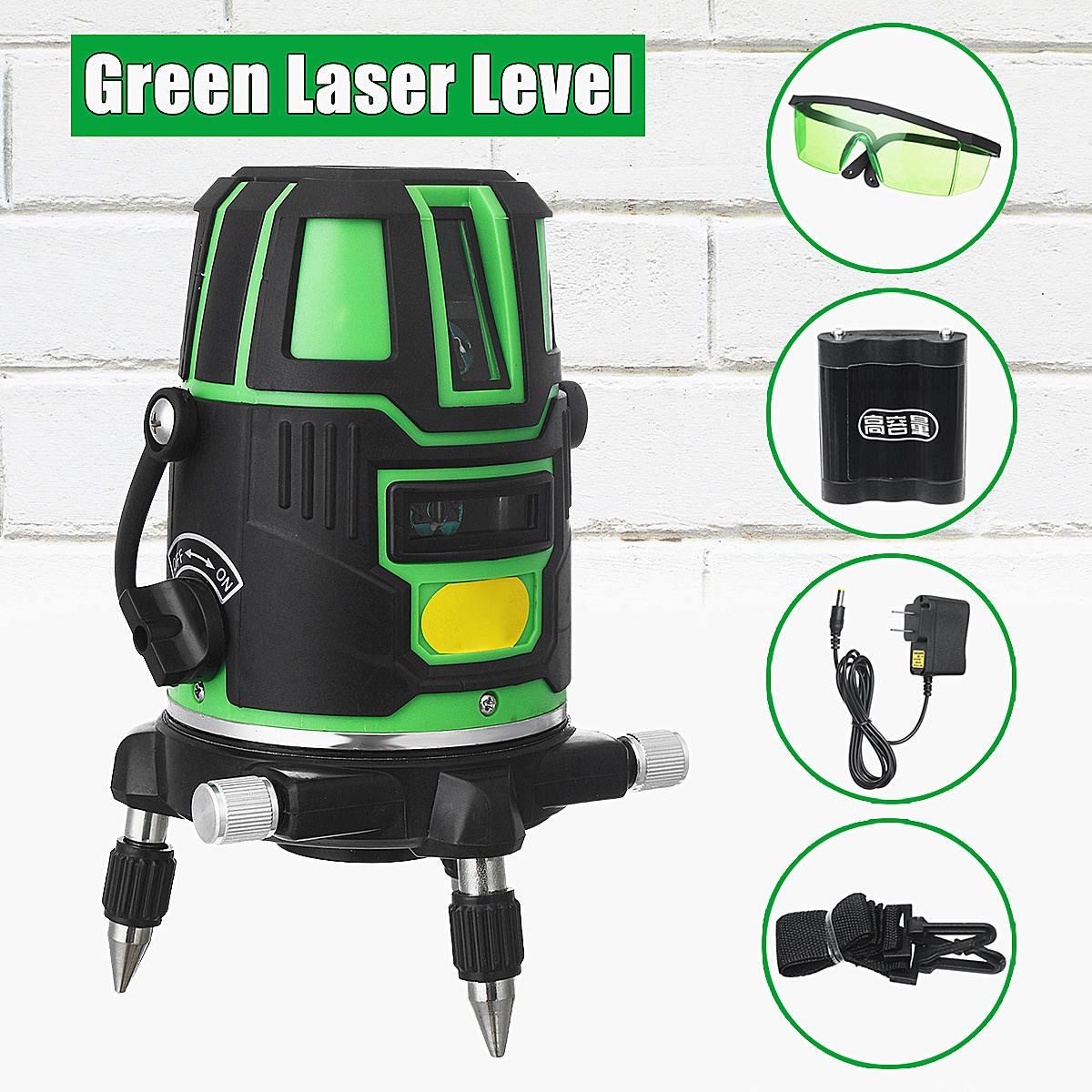 Laser Level 2 Line Green Cross Line Self Leveling 360C Rotation Measure ToolLaser Level 2 Line Green Cross Line Self Leveling 360C Rotation Measure Tool