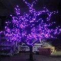 1.5 m 1.8m brilhante led cherry blossom árvore de natal iluminação à prova dwaterproof água jardim paisagem decoração da lâmpada para festa de casamento chrisma