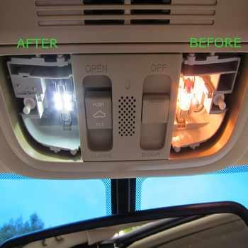 14pcs White Car LED Light Bulbs Interior Package Kit For 1998-2002 Toyota Land Cruiser Prado Map Dome Door Lamp Plug n Play 12V