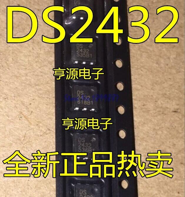 1pcs/lot DS2432 DS2432P SOJ-6