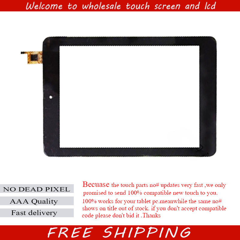 New 8 inch Touch Screen Digitizer Glass For Ritmix RMD-870 tablet PC Free shipping