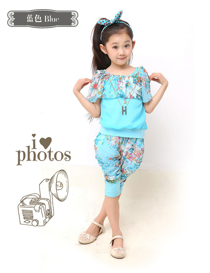 8036bb1599 Toddler Girls Summer Clothes Sets For Kids Wear to 2 4 6 8 10 12 Year Baby Wear  Girls Elegant Clothing for Teens Vetement Enfant-in Clothing Sets from ...
