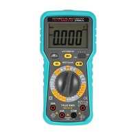 2900A Digital Automotive Multimeter 6000 Counts True RMS AC/DC Volt Amp Ohm Dwell Angle Rotational Speed Temperature Tester