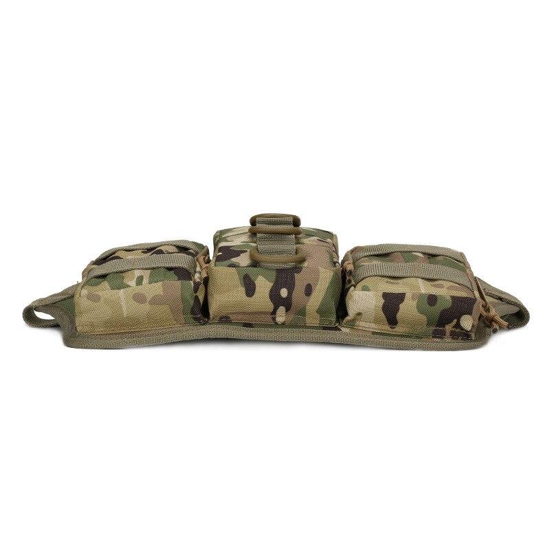 600D Oxford Bolsas Táctico Militar Molle Paquete de La Cintura Al Aire Libre Bol