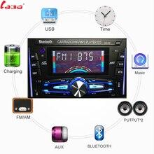 LaBo Bluetooth Autoradio Car Stereo Radio FM Aux del Ricevitore di Ingresso SD USB ISO 9002 12 v In-dash 2 din Auto MP3 Multimedia Player