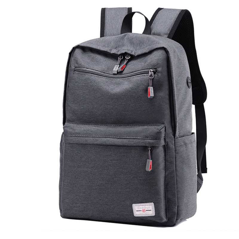 Men Women School Office Work Backpack with Headphone Holes Casual Laptop Tablet Shoulder Bag Kids Teenager Travel Daypack Bags new gravity falls backpack casual backpacks teenagers school bag men women s student school bags travel shoulder bag laptop bags