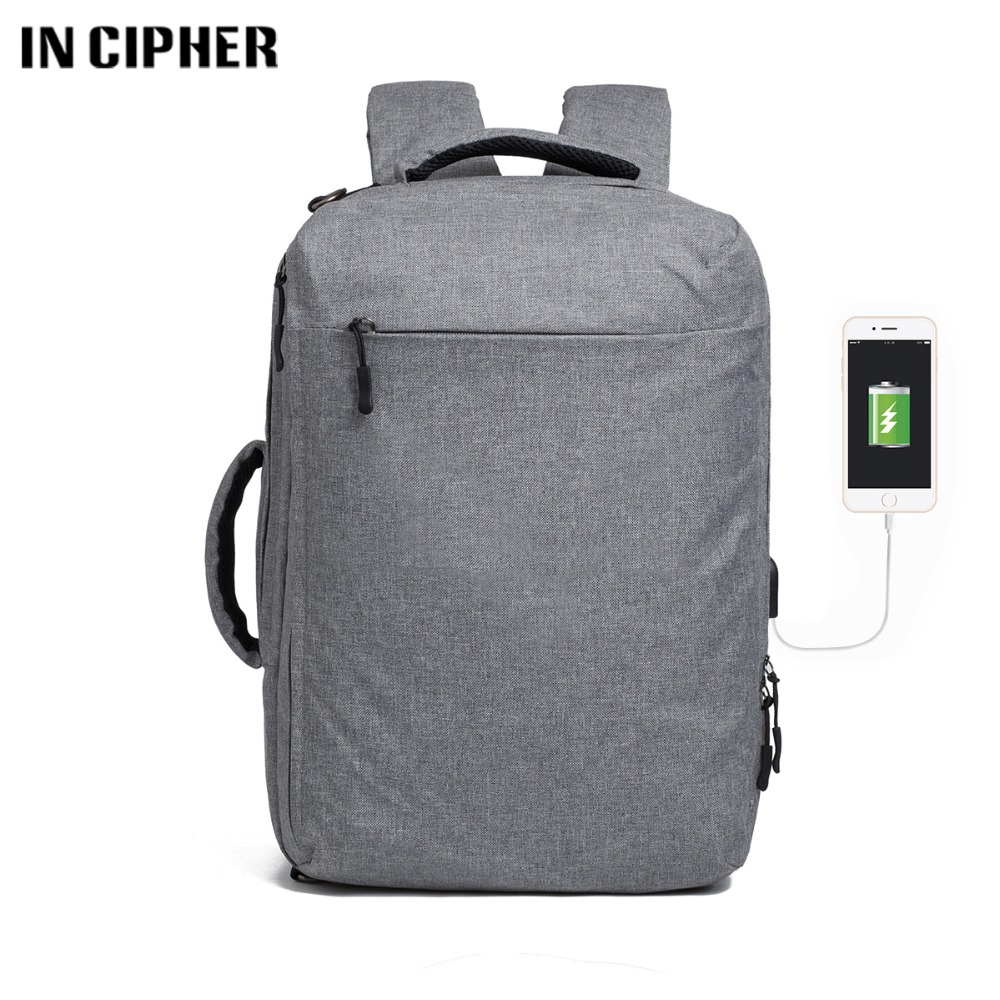 Men Male Canvas Backpack Gray Casual Rucksacks 16 Inch Laptop Backpacks College Student School Backpack Women Mochila xi yuan backpack men male canvas college student school backpack casual rucksacks laptop backpacks women mochila