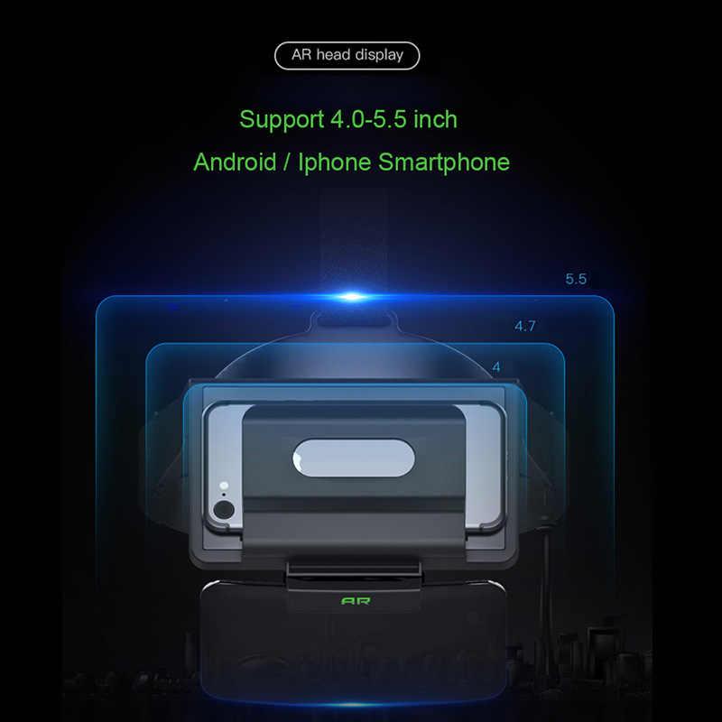 b23c198e275 ... Sovawin 3D Smartphone AR Augmented Reality glasses Mobile Box Headset  Virtual Reality VR helmet Film AR ...