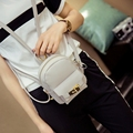 Cute Korean Small New Women Shoulder Bag Quality PU Leather Bag Mini Backpack crossbody bags women's backpacks