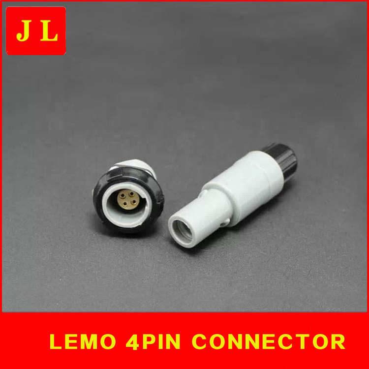 LEMO 4 pin connector PAG/PLG,4-pin round plug self-locking connector, 4-pin plug, 4-pin socket, plug self-locking connector connector 1600236 4 connector