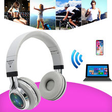 Original wireless headset bluetooth s for Iphone for Samsung for Xiaomi Gaming sport radio bass computer(China)