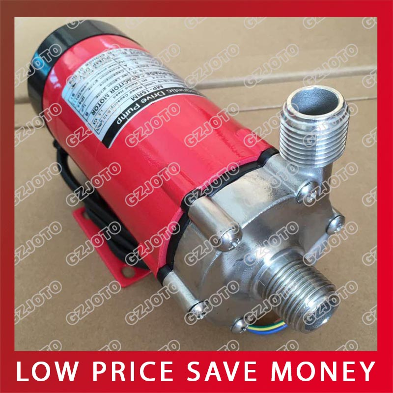 120 Degree High Tempersture Homebrew Stainless Steel Magnetic Drive Pump food grade high temperature resisting 140 degree beer magnetic drive pump