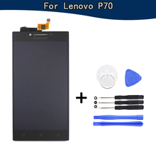 For Lenovo P70 LCD Display with Touch Screen Assembly for Lenovo P70 P70-T P70t replacment free 7 in 1 tools