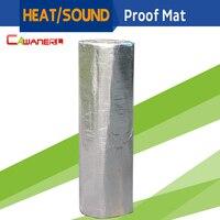 1 Roll 8sqm 800CM X 100CM Car Heat Sound Shield Insulation Proof Mat Pad Deadener Deadening