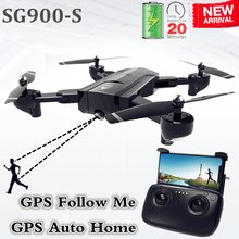SG900-S SG900 GPS Drone met camera HD 1080P Professionele FPV Wifi RC Drones Auto Return Dron RC Quadcopter Helicopter VS F11 X5(China)