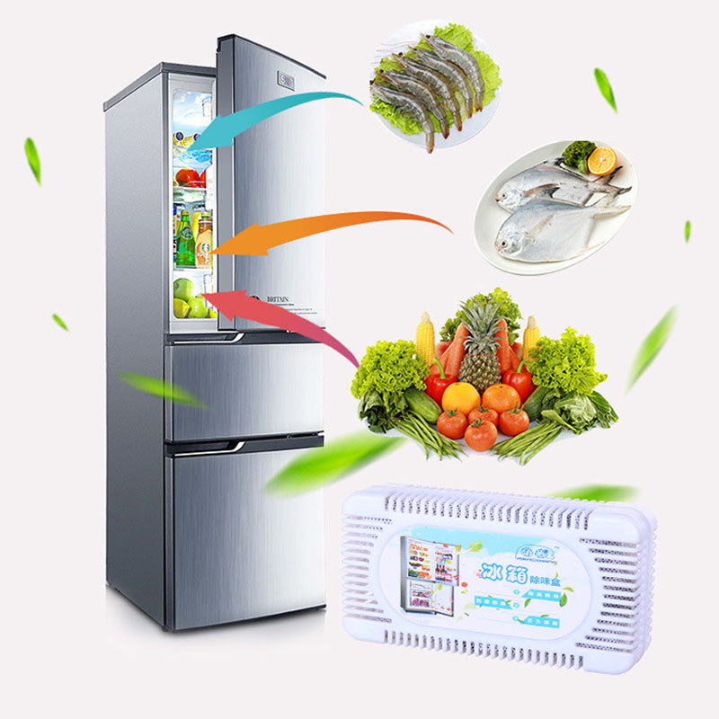 Air Purifier Refrigerator Deodorant Freezer Deodorizer Home Accessories Bamboo Charcoal Activated Carbon Box Smell Remover