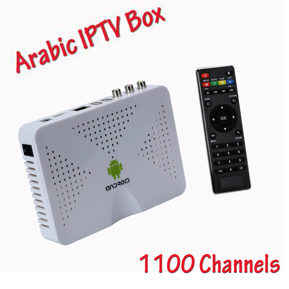 Arabic Iptv Box No monthly fee Arabic Tv Box Europe Iptv Box with 1100 Iptv best