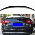 Задний спойлер из углеродного волокна для Audi A6 C7  крыла багажника M4 2012 2013 2014 2015 2016 2017