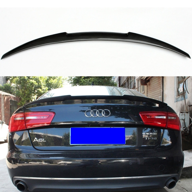 2013 Audi S5 For Sale: For Audi A6 C7 Spoiler Carbon Fiber Rear Spoiler Trunk
