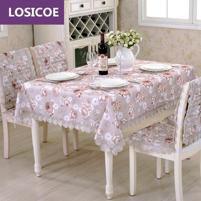 Strange Cotton Blended Exquisite Fabrics Dining Table Cloth Chair Covers Cushion Chair Cover Rustic Lace Cloth Set Tablecloths Hot Offer Black Friday 2019 Pabps2019 Chair Design Images Pabps2019Com