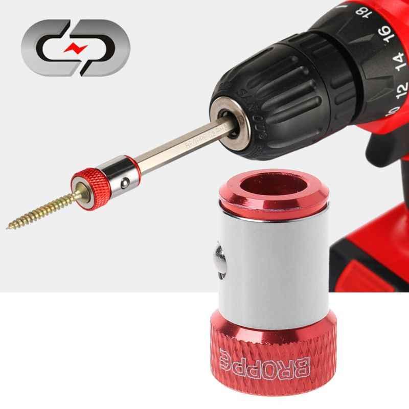 """1PC śrubokręt pierścień magnetyczny 1/4 """"6.35mm Metal Strong Magnetizer śruba do wkrętaki sześciokątne"""