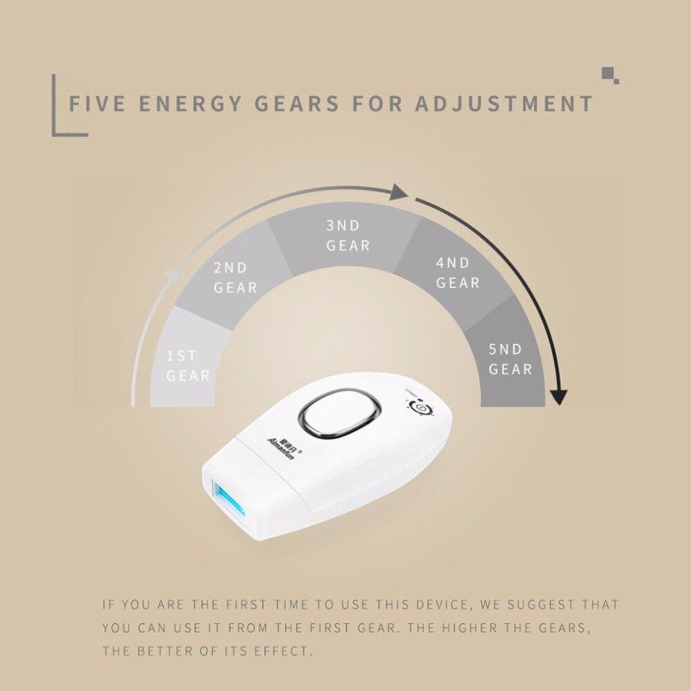 5 режимов яркий пульсирующий свет IPL эпилятор электрический женский боди-арт Ноги лазерная эпиляция фото Для женщин безболезненно Threading маш...