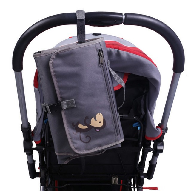 Portable Baby Diaper Covers Baby Mat Changing Pad Mat Bag Storage Pockets Waterproof Travel Changing Station Kit Diaper Clutch