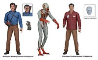 New Hot Classic Terror Movie Evil Dead Series Ash vs Evil Dead Value Stop Ash Hero Ash Eligos NECA 7inch Action Figure