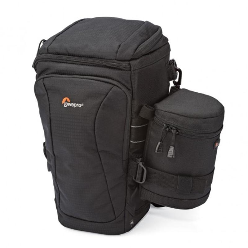Lowepro Toploader Pro 75 AW II with 9*9cm Lens bag DSLR Camera Triangle Shoulder Bag Portable Waist Case Holster For Canon Nikon