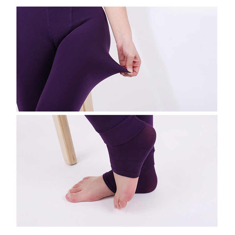 94beed089ed ... New Women Pearl Leggings Winter Fleece Leggings Warm Thickening Leggings  Pants Warm Outer Wear High Waist ...