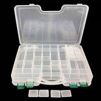 WALK FISH 1PCS PP Material Multi Functional Box 29 5 22 6cm Plastic Double Layer Fish