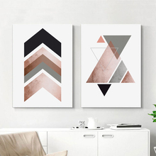 Modern Geometry Canvas Art Posters and Prints Abstract Painting Nordic Style Wall Pictures for Living Room Home Decor