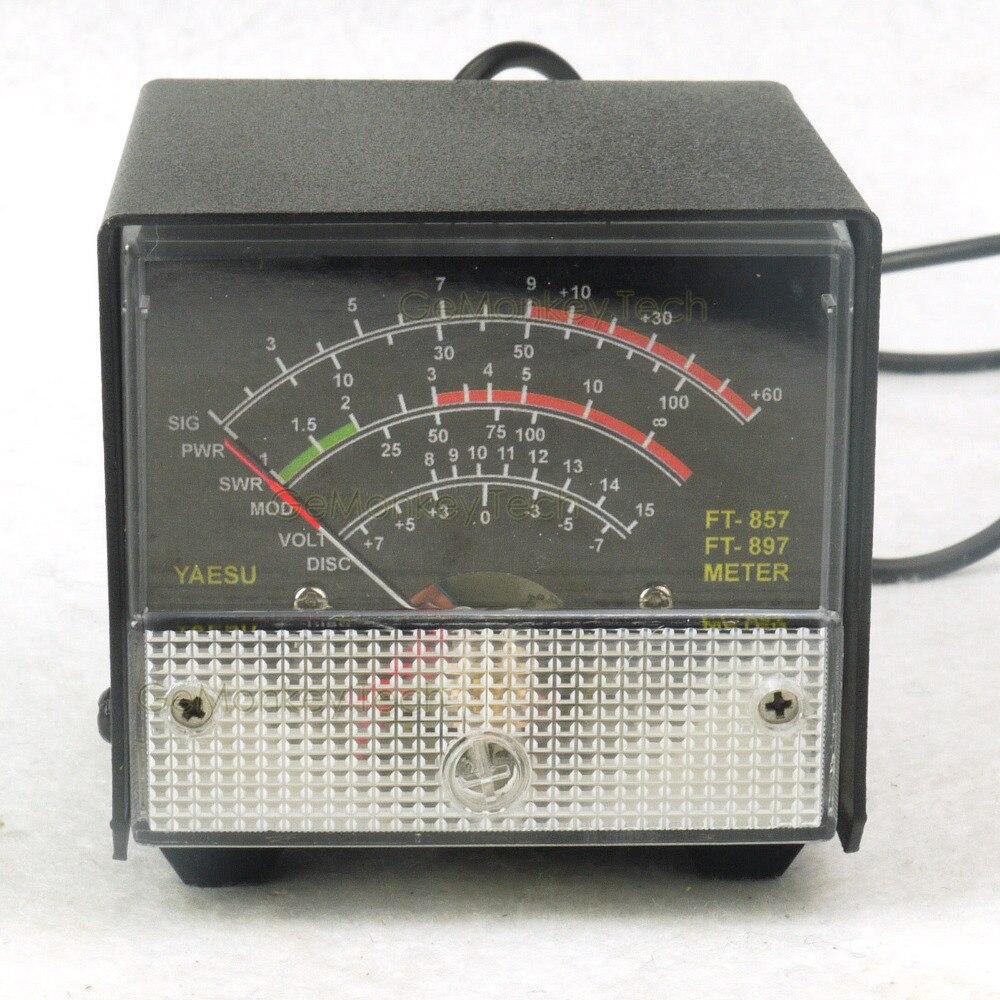 External S meter /SWR / Power Meter display standing wave meter For Yaesu  FT-857 FT-897 857 897
