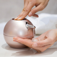 Ball shape 380ml liquid soap dispenser pump hand Pressure emulsion bottle container for Bathroom Shower Accessories