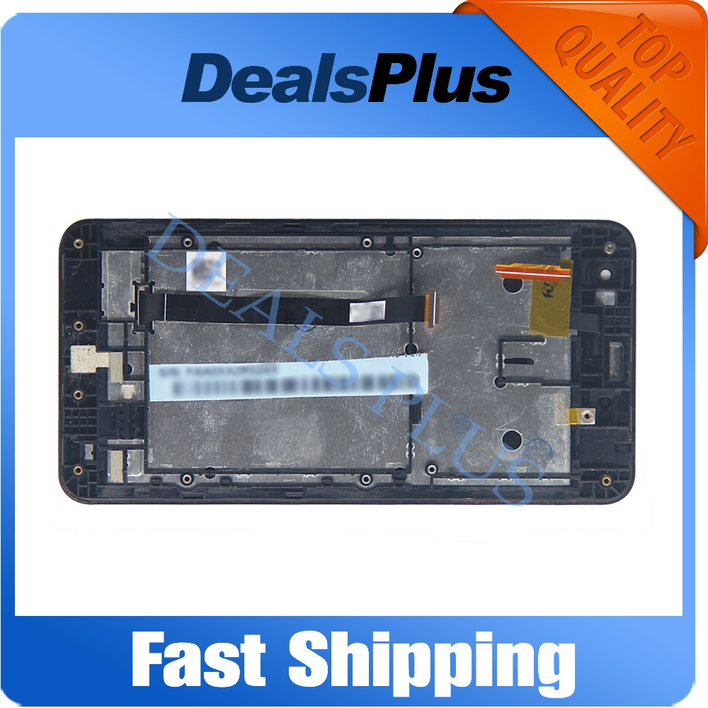 Подробнее о Replacement New LCD Display Touch Screen with Frame Assembly For Asus Zenfone 5 A500CG A501CG T00J 5-inch Black Free Shipping black replacement part for asus zenfone 4 lcd display and touch screen digitizer assembly 1pc lot free shipping