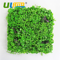 Outdoor Artificial Boxwood Hedge Topiary Decorative Privacy Fence 20X20 inches UV Green Plastic Plants Mats DIY Party Decoration