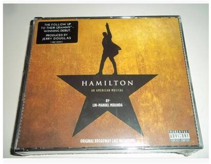 Hamilton (Original Broadway Cast Recording) Soundtrack 2CD Free shipping ...