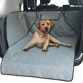 Universal Waterproof Dog Cargo Cover Mat Large Back Seat Cover Protector Washable Durable Pet Cargo Liner fielder use