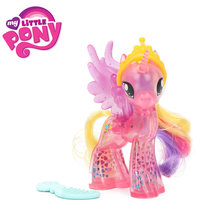 My Little Pony Toys the Movie Princess Cadance Celestia PVC Action Figure Friendship is Magic Model Doll Glitter Celrbration(China)