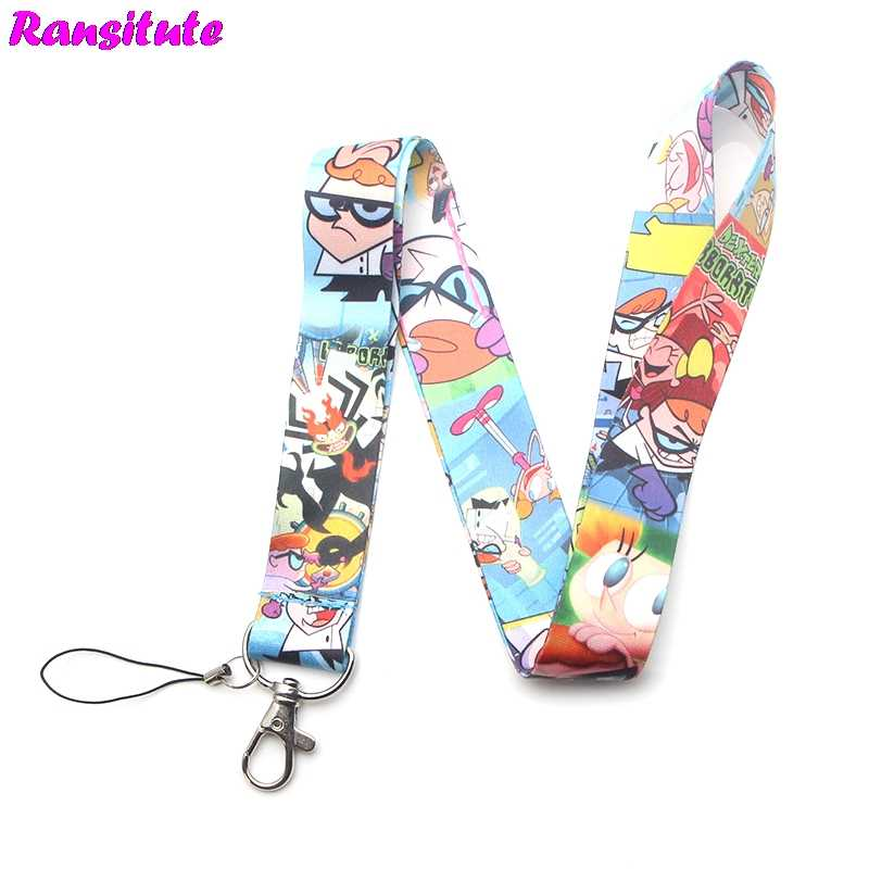 Funny mobile phone lanyard key ID card gym mobile phone strap USB badge holder DIY lanyard