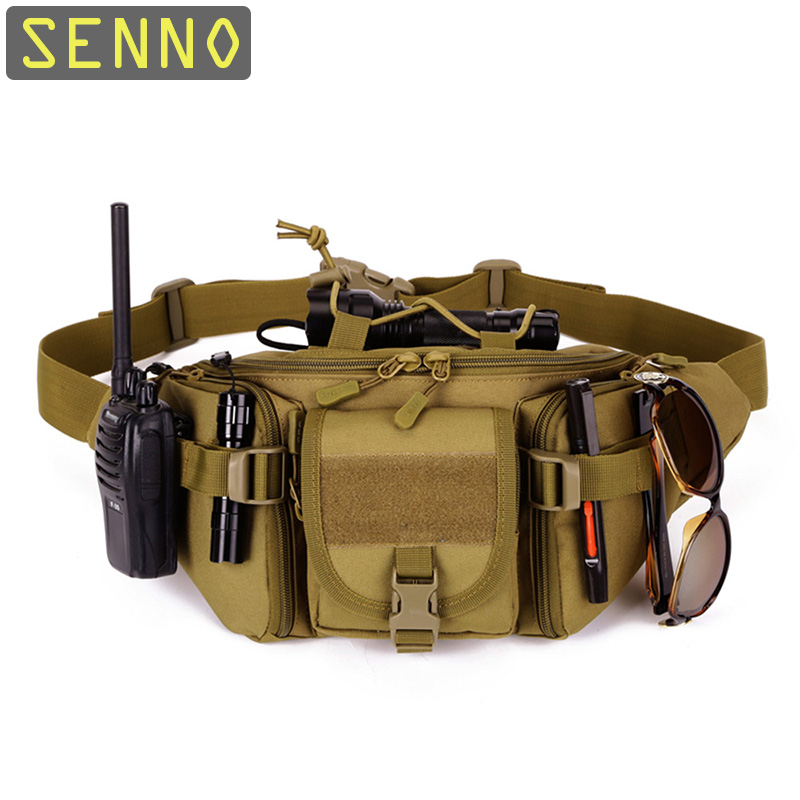 Tactical Waist Bag First Aid Kits Waterproof Fanny Pack Sports Hunting Bags Camping Sport Molle Army Bag Belt Military Backpack